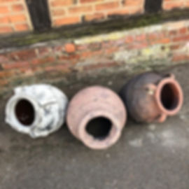 Antique style Half Pots