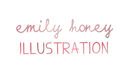 LOGO Emily Honey Illustration