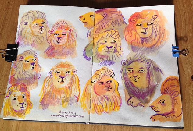 Lion's mane event