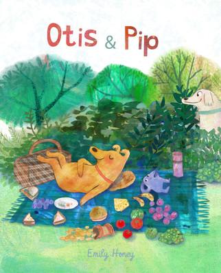 Otis + Pip cover mock up