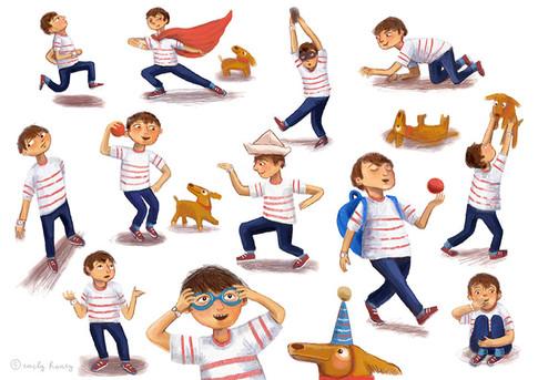 Finn + Apollo imaginary play