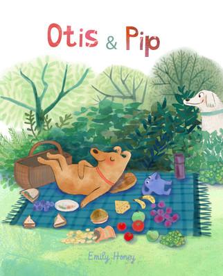 Otis + Pip - Cover mock up