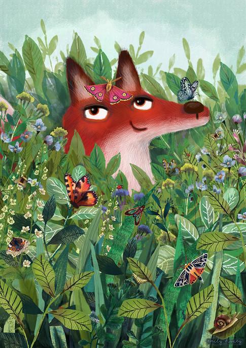 Flossie the Fox - Wildflower Meadow
