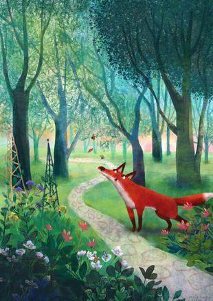 flossie the fox_garden_A3 DIMENSIONS_150