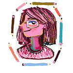 Emily Honey Illustration logo - Freelance illustrator about the artist