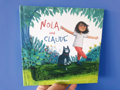 Nola and Claude cover mock up