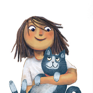Nola + Claude - best friends