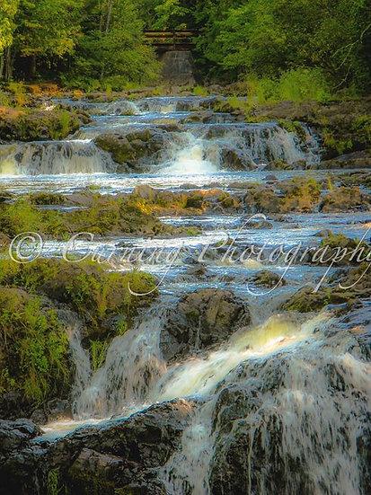 Copper Falls Cascade