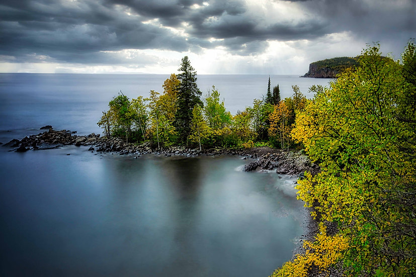 Superior Stormy Skies(Silver Bay, MN)