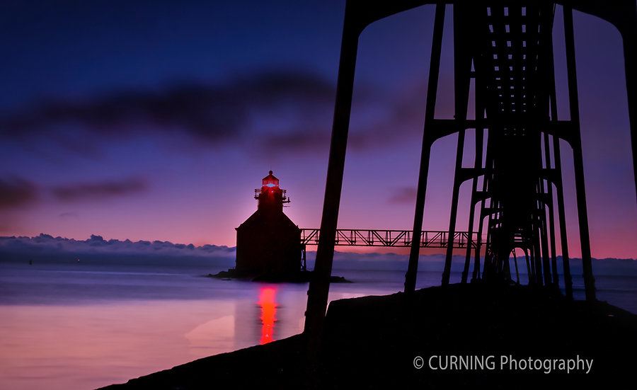 Sturgeon Bay Lighthouse Sunrise