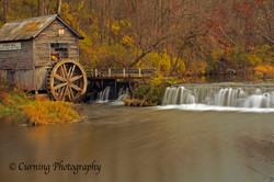 Hyde's mill in fall