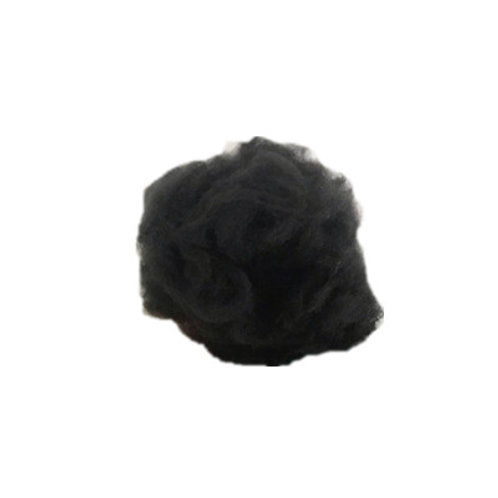 6D AAA deep black recycled polyester staple fiber nonwoven