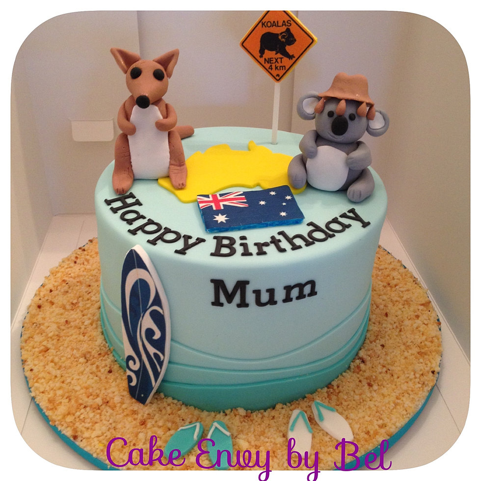 Birthday Cakes To Order Perth