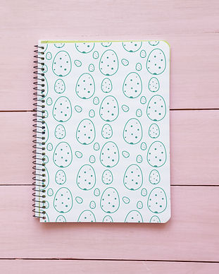 Maria Olivo's Design - Spiral Notebook Redbubble