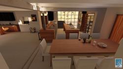 House Strauss 3D Renders