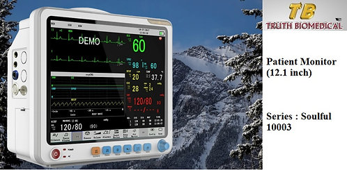 Patient Monitor (12.1 inch) - Series : Soulful 10003