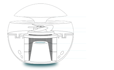 jak funguje sphere čistička vzduchu
