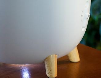 elegantní dřevěné nožičky ovi zvlhčovače vzduchu