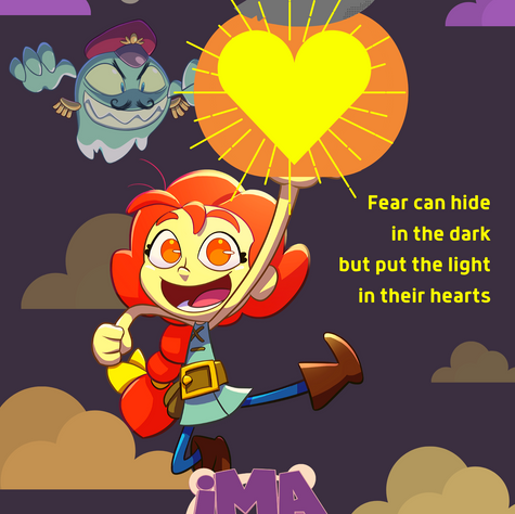 Fear can hide in the dark but...
