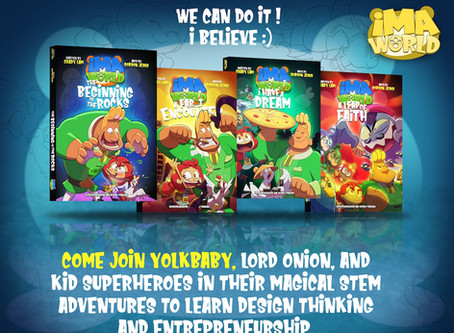 Give Your Children A Magical STEM Adventure to Learn Design Thinking & Entrepreneurship