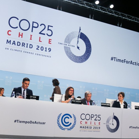 """""""COP25"""" Conference Meets in Madrid"""