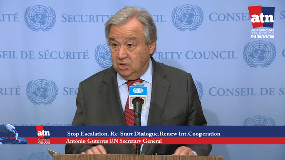 Stop Escalation, Urges UN Chief