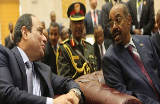 Escalation by the Sudan's Against Egypt