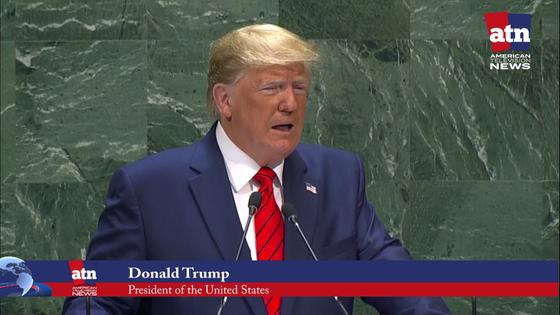 Trump Delivers Annual Speech in U.N. Debate