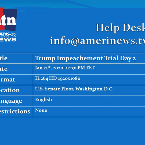 Impeachment Trial of Donald J. Trump LIVE from the Senate