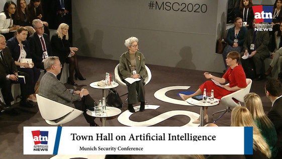 Live from Munich Security Conference a Town Hall on Artificial Intelligence