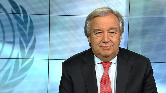 UN Chief Will Deliver Remarks on COVID-19 Crisis Remotely Today