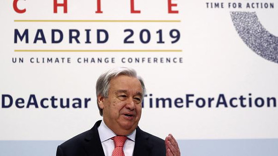 "U.N. Climate Change Holds ""COP25"" in Madrid"