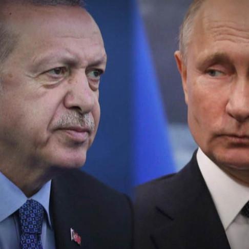 Turkey's Erdogan Hails Historic Agreement With Putin's Russia over Syria