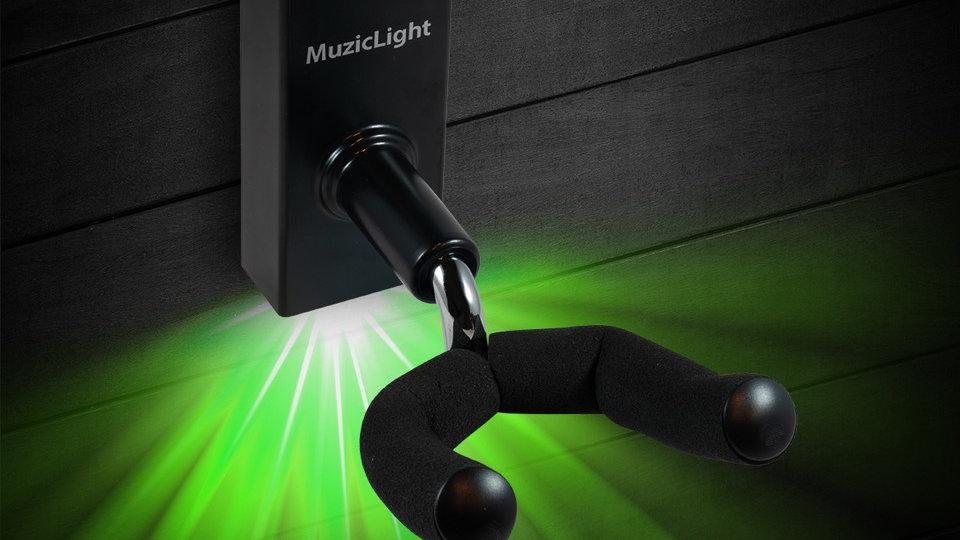 MuzicLight-Green