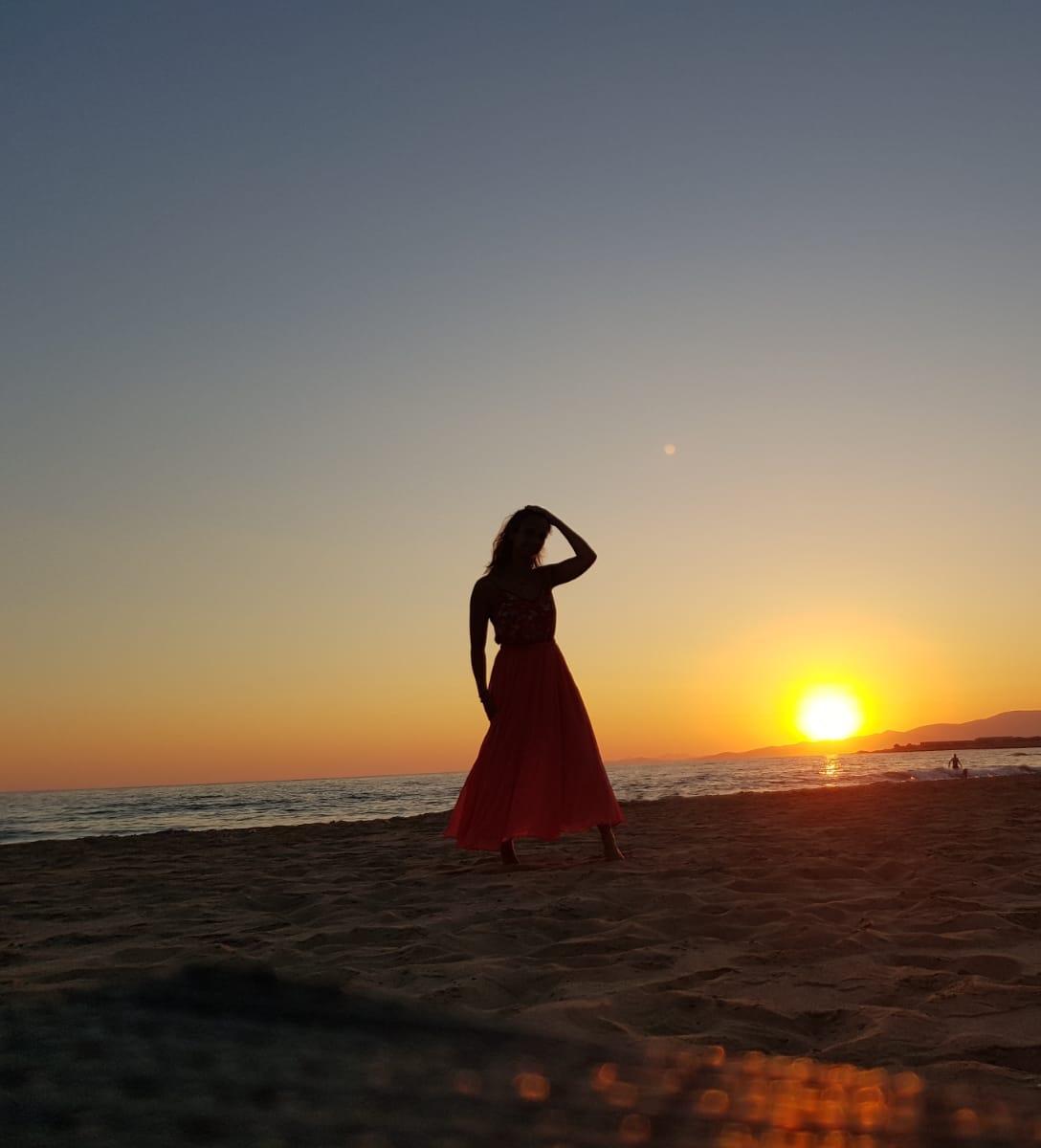 sunset Christie