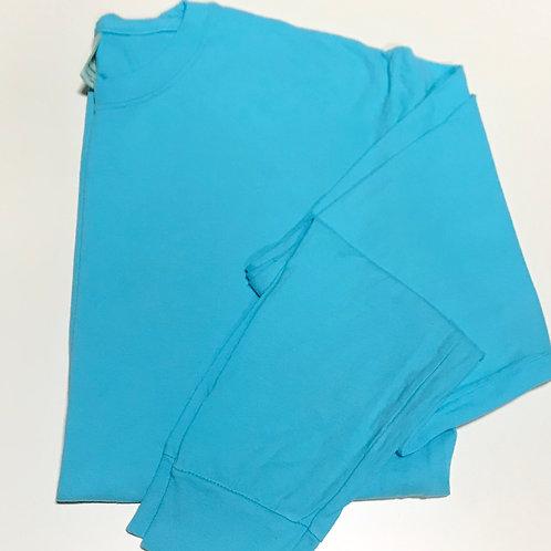 Aerobatics Blue Long Sleeve T-Shirt