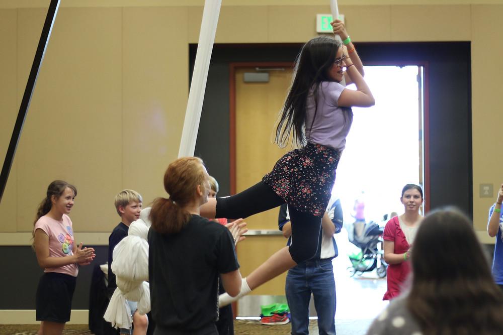 Utah circus classes.