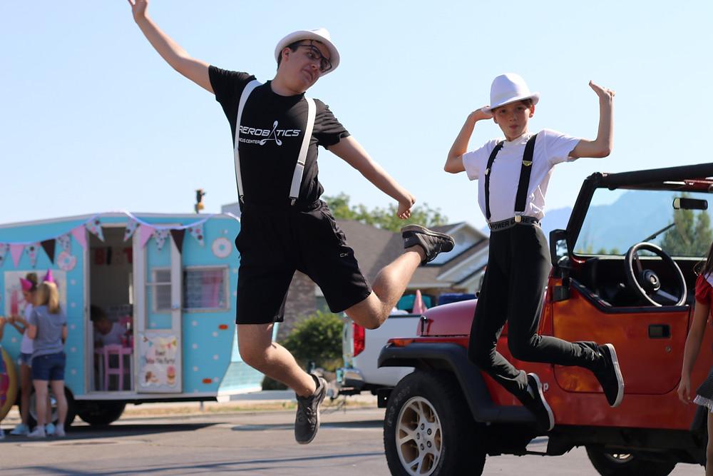 Aerobatics Boys Represent!