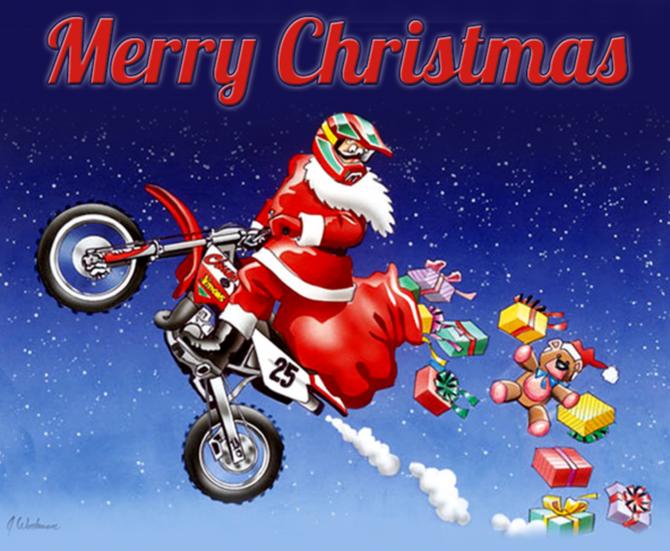 L'école de pilotage B2 Motosport Loisirs vous souhaite un joyeux Noël !