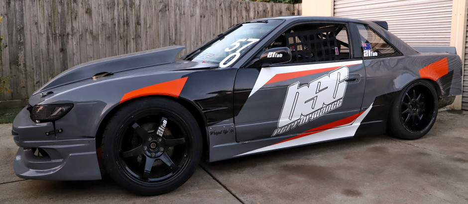 Designing A Livery For A Pro Drift Car
