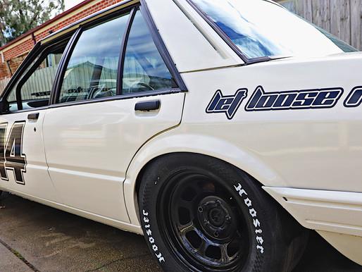 The #WannaBeRacer's NASCAR wheels.