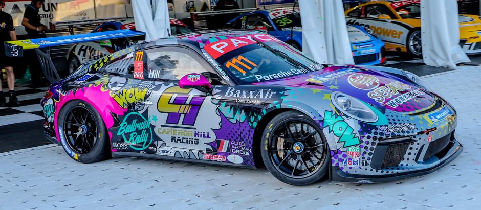 The Porsche's Of The Australian Grand Prix