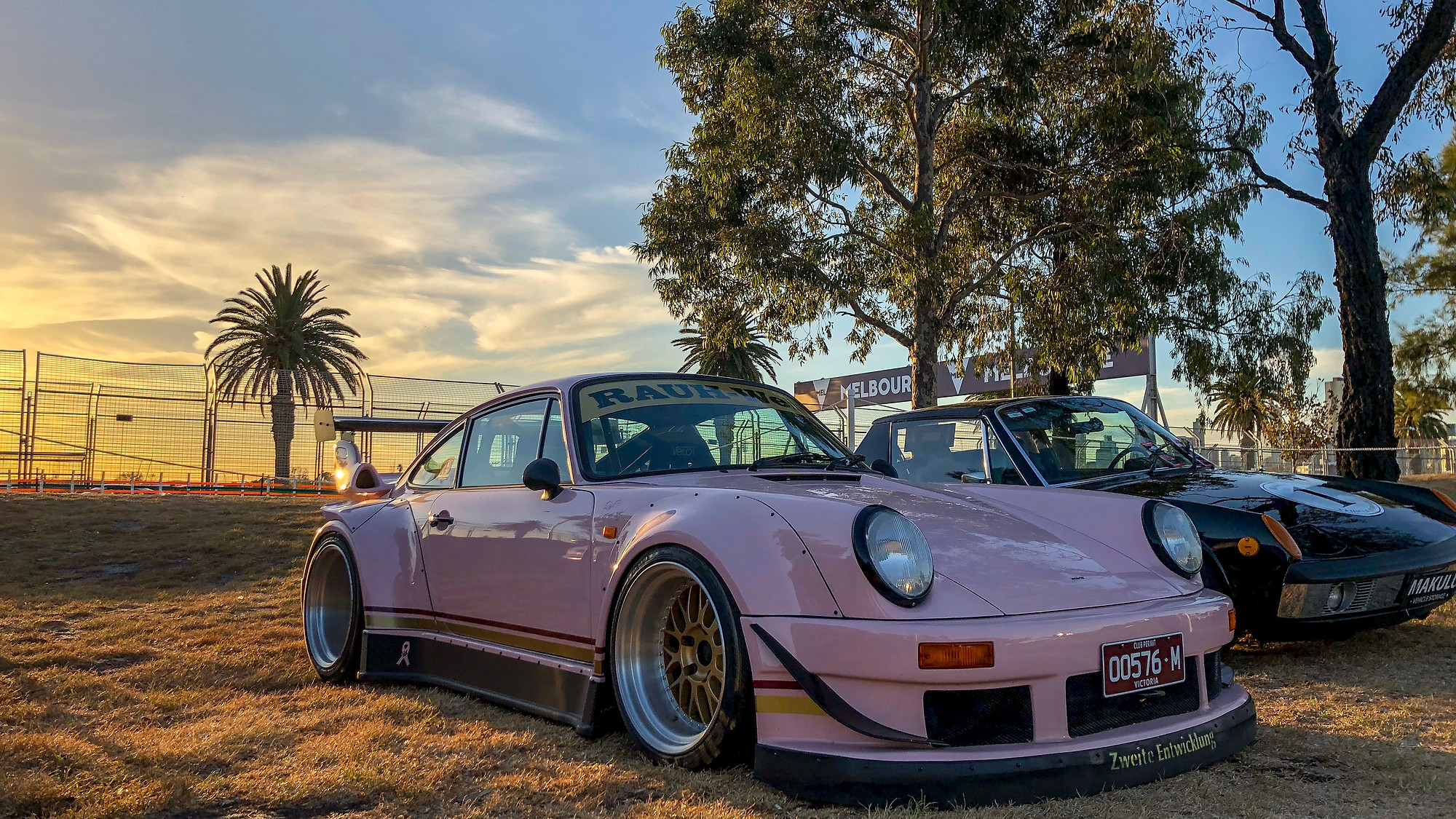 Shooting A Pink Rwb Porsche With An Iphone