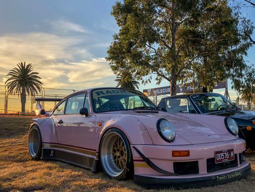 Shooting A Pink RWB Porsche With An iPhone