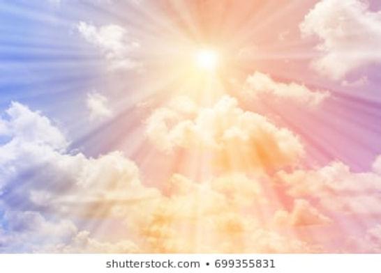 sun-shines-on-pastel-sky-260nw-699355831