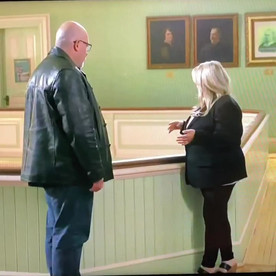 My appearance on The Holzer Files - The Haunting of Lambert Castle