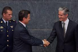 Peña Nieto y Alfredo Del Mazo. Foto de Archivo.