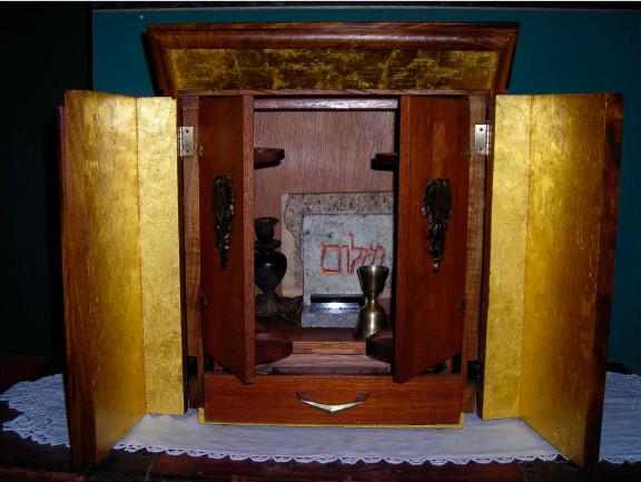 Caja Dybbuk. Foto de Archivo