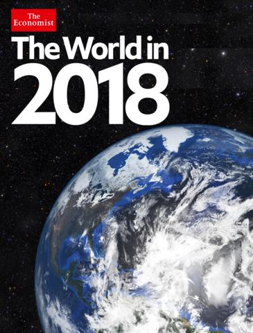 Señales encontradas dentro de la portada The Economist 2018
