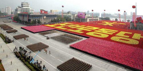 Ejercito de Corea del Norte. Foto de Archivo